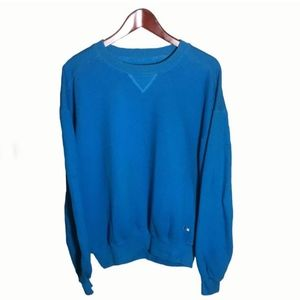 Russell Athletic Blue Cotton Sweatshirt Size L
